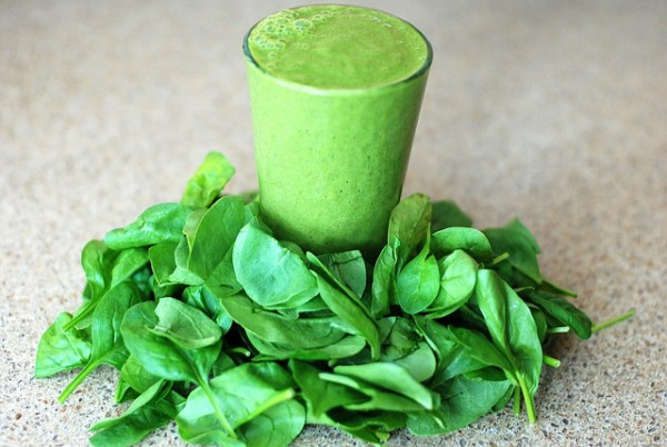 leafy spinach